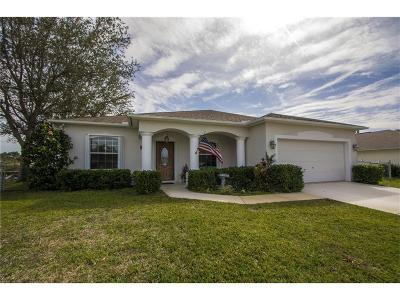 Sebastian Single Family Home For Sale: 1042 Landsdowne Drive