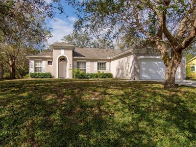 Sebastian Single Family Home For Sale: 1479 Seahouse Street