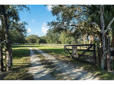 Vero Beach Residential Lots & Land For Sale: 21555 State Rd 60