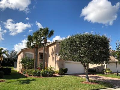 Vero Beach Single Family Home For Sale: 1901 Grey Falcon Circle SW