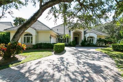 Indian River Shores Single Family Home For Sale: 31 S White Jewel Court