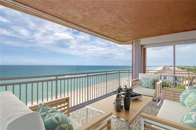 Melbourne Beach FL Condo/Townhouse For Sale: $1,100,000