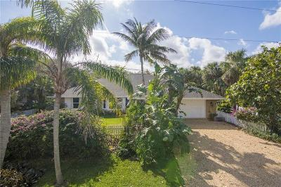 Vero Beach FL Single Family Home For Sale: $575,000
