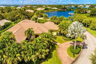 Indian River County Single Family Home For Sale: 745 Lagoon Road