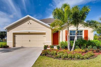 Sebastian Single Family Home For Sale: 253 Periwinkle Drive