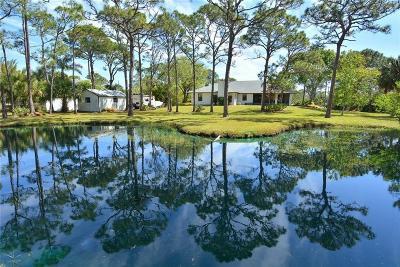 Grant Valkaria Single Family Home For Sale: 5890 Brabrook Avenue