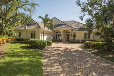 Vero Beach FL Single Family Home For Sale: $720,000