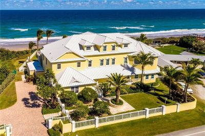 Melbourne Beach Single Family Home For Sale: 5045 S Highway A1a