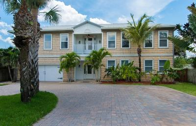 Melbourne Beach Single Family Home For Sale: 7834 S Highway A1a