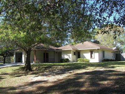 Single Family Home For Sale: 5100 Indrio Road