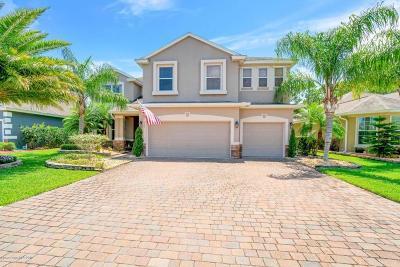 Palm Bay Single Family Home For Sale: 264 Abernathy Circle