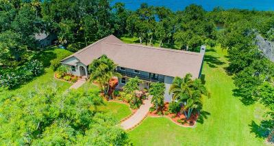 Merritt Island Single Family Home For Sale: 5795 N Tropical Trail
