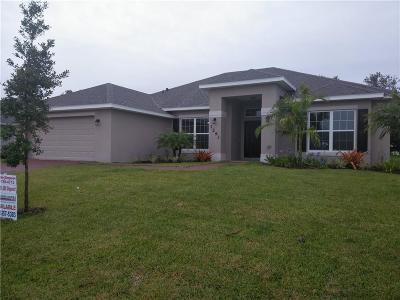 Oaks Of Vero Single Family Home For Sale: 1293 S Scarlet Oak Circle