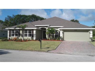 Oaks Of Vero Single Family Home For Sale: 1315 Scarlet Oak Circle Circle