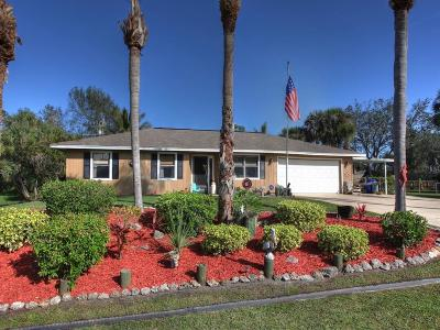 Sebastian Single Family Home For Sale: 338 Citrus Avenue
