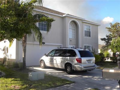 Sebastian Single Family Home For Sale: 100 Bellamy Trail