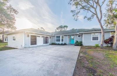 Sebastian Single Family Home For Sale: 698 Fischer Drive