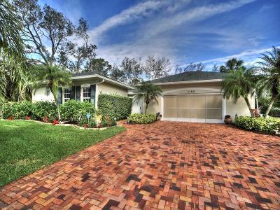 Sebastian Single Family Home For Sale: 1150 Croquet Lane
