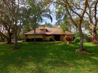 Sebastian Single Family Home For Sale: 505 Cross Creek Circle