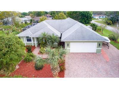 Sebastian Single Family Home For Sale: 708 Tulip Drive