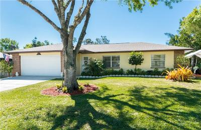 Sebastian FL Single Family Home For Sale: $209,900