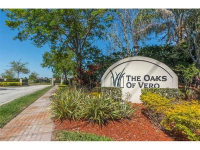 Oaks Of Vero Single Family Home For Sale: 1277 Scarlet Oak Circle