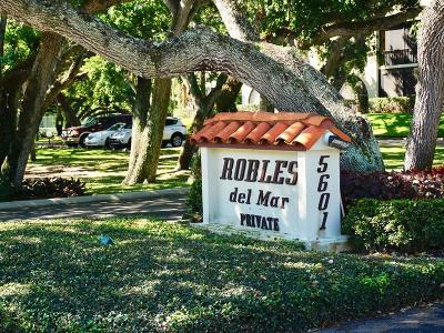 Robles Del Mar Condo/Townhouse For Sale: 5601 Highway A1a #N200