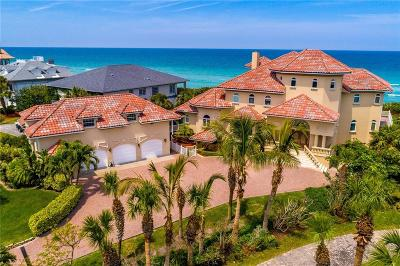 Melbourne, Melbourne Beach Single Family Home For Sale: 8345 Highway A1a