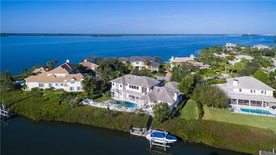 Vero Beach, Indian River Shores, Melbourne Beach, Sebastian, Palm Bay, Orchid Island, Micco, Indialantic, Satellite Beach Single Family Home For Sale: 220 Osprey Court