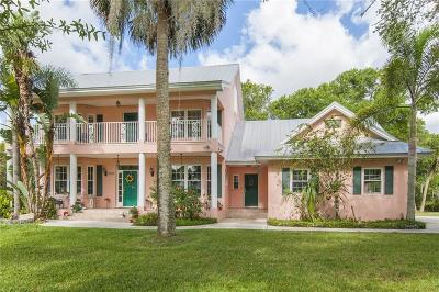 Fort Pierce FL Single Family Home For Sale: $1,495,000