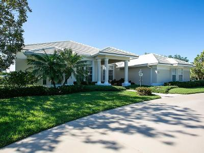 Vero Beach, Indian River Shores, Melbourne Beach, Sebastian, Palm Bay, Orchid Island, Micco, Indialantic, Satellite Beach Single Family Home For Sale: 189 Spinnaker Drive