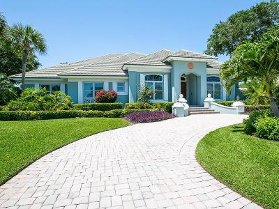 Vero Beach, Indian River Shores, Melbourne Beach, Sebastian, Palm Bay, Orchid Island, Micco, Indialantic, Satellite Beach Single Family Home For Sale: 301 Sable Oak Drive