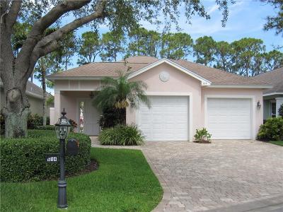 Vero Beach Single Family Home For Sale: 614 SW Bridgewater Lane