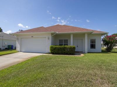 Sebastian Single Family Home For Sale: 771 Brookedge Terrace