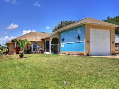 Sebastian Single Family Home For Sale: 48 Sunset Drive