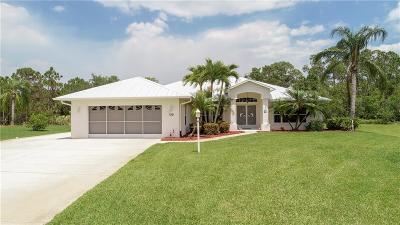 Sebastian Single Family Home For Sale: 709 Easy Street