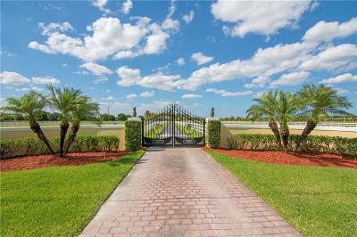 Vero Beach, Indian River Shores, Melbourne Beach, Sebastian, Palm Bay, Orchid Island, Micco, Indialantic, Satellite Beach Single Family Home For Sale: 6990 SW 1st Street