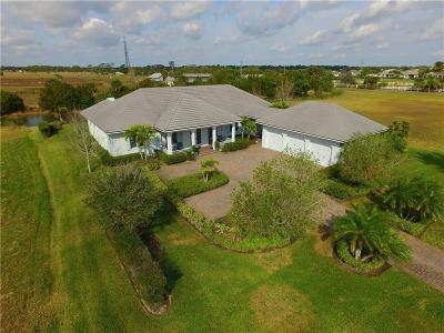 Vero Beach Single Family Home For Sale: 1059 Polo Grounds Drive