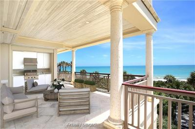 Vero Beach, Indian River Shores, Melbourne Beach, Sebastian, Palm Bay, Orchid Island, Micco, Indialantic, Satellite Beach Condo/Townhouse For Sale: 10 Beachside Drive #202
