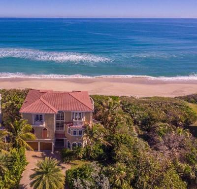 Vero Beach, Indian River Shores, Melbourne Beach, Sebastian, Palm Bay, Orchid Island, Micco, Indialantic, Satellite Beach Single Family Home For Sale: 7797 Highway A1a