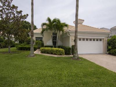 Island Club Of Vero Single Family Home For Sale: 951 Island Club
