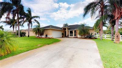 Sebastian Single Family Home For Sale: 1017 George Street
