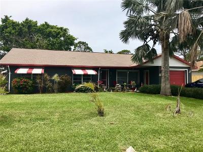 Sebastian FL Single Family Home For Sale: $189,900