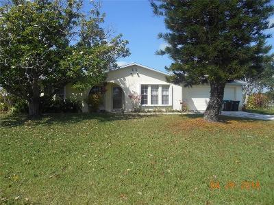 Melbourne, Melbourne Beach Single Family Home For Sale: 550 Heather Avenue