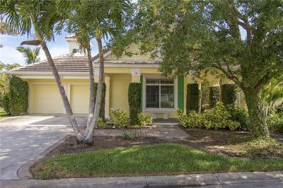 Vero Beach Single Family Home For Sale: 1800 Orchid Island Circle