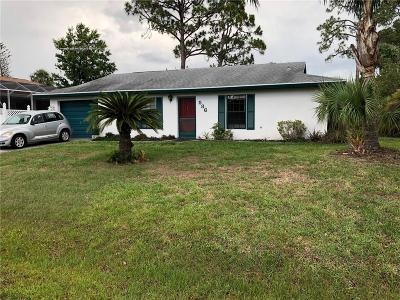 Sebastian FL Single Family Home For Sale: $145,000