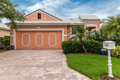 Vero Beach Single Family Home For Sale: 1420 Saint Catherines Circle
