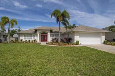 Sebastian FL Single Family Home For Sale: $239,900