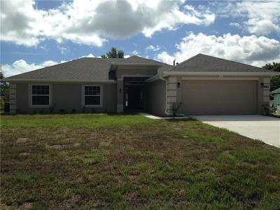 Sebastian FL Single Family Home For Sale: $234,400