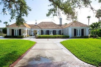 Vero Beach, Indian River Shores, Melbourne Beach, Sebastian, Palm Bay, Orchid Island, Micco, Indialantic, Satellite Beach Single Family Home For Sale: 270 Palm Way